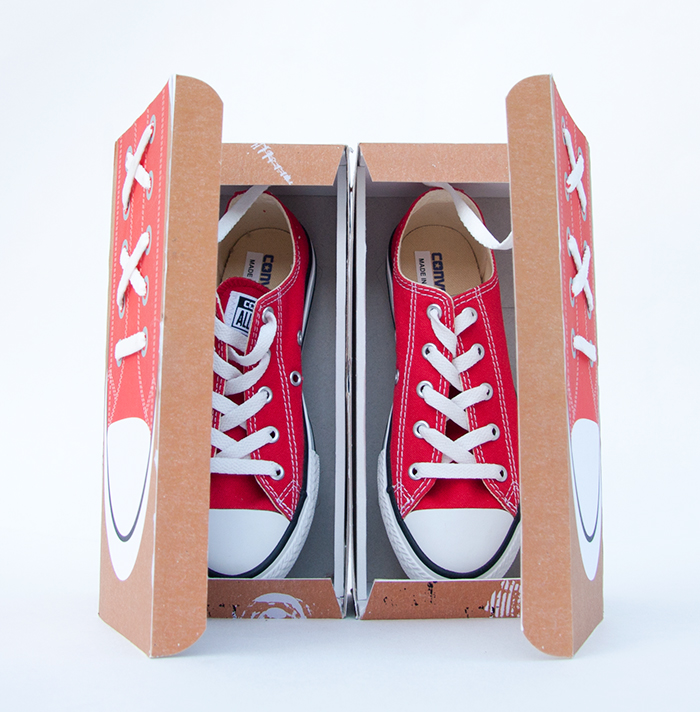 5468a2bfe056 Packaging Concept Design and Integrated Campaign for Converse by Yours Truly